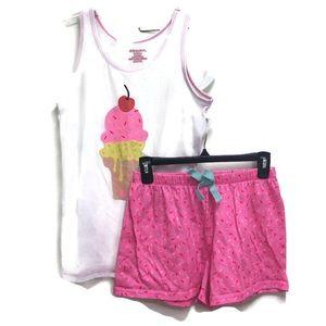 Xhilaration ice Cream Cone Pajama Set